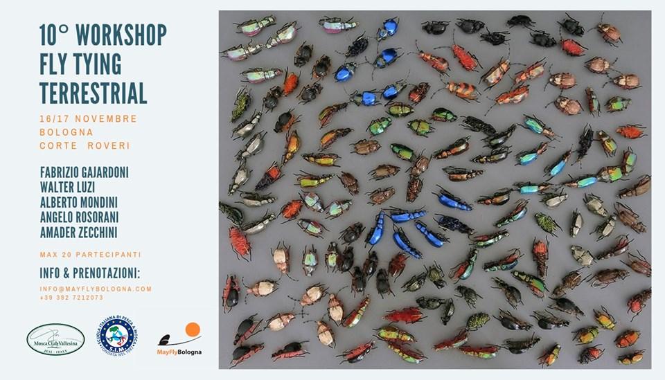 10° Workshop fly Tying Terrestrial